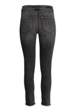 Slim High Twisted Jeans - Black denim -  | H&M GB 3