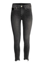 Slim High Twisted Jeans - Black denim -  | H&M GB 2