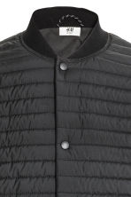Quilted jacket - Black - Men | H&M 3