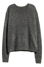 Oversized jumper - Dark grey marl -  | H&M 2