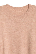 Oversized jumper - Beige marl - Ladies | H&M GB 3