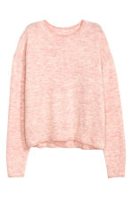Oversized jumper - Light pink marl - Ladies | H&M 2
