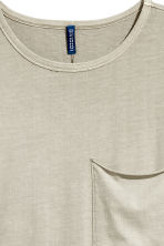 T-shirt with a chest pocket - Light mole - Men | H&M 3