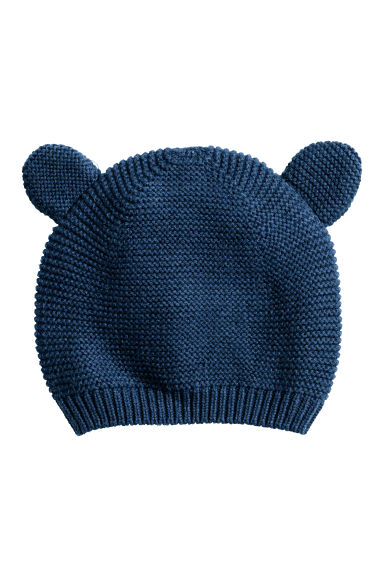 Cotton hat - Dark blue - Kids | H&M
