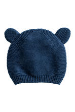 Cotton hat - Dark blue -  | H&M 1