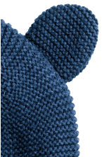 Cotton hat - Dark blue -  | H&M 2
