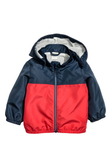 Outdoor jacket - Red/Dark blue - Kids | H&M 1