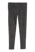 Ankle-length leggings - Black marl - Ladies | H&M CN 2