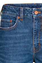 Vintage High Ankle Jeans - Dark denim blue -  | H&M 4