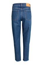 Vintage High Ankle Jeans - Dark denim blue -  | H&M 3