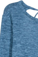 Top in maglia fine - Blu mélange - DONNA | H&M IT 2