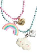 Friendship necklaces - Turquoise/Pink - Kids | H&M CN 2