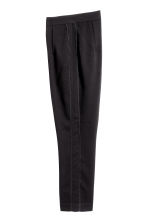 Ankle-length suit trousers - Black -  | H&M 3