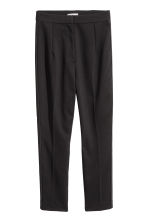Ankle-length suit trousers - Black -  | H&M 2