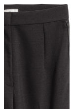 Ankle-length suit trousers - Black -  | H&M 4