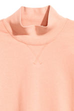 Turtleneck sweatshirt - Powder - Ladies | H&M CN 4