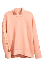 Turtleneck sweatshirt - Powder - Ladies | H&M CN 3