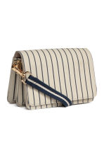 Shoulder bag - Light beige/Striped - Ladies | H&M 3