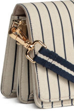 Shoulder bag - Light beige/Striped - Ladies | H&M 4