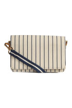 Shoulder bag - Light beige/Striped - Ladies | H&M 2