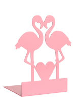 Metal bookend - Pink/Flamingo - Home All | H&M CN 1