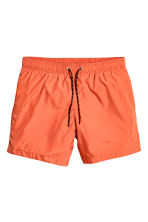 Short swim shorts - Orange - Men | H&M CN 2