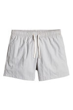 Short swim shorts - Light grey - Men | H&M CN 2