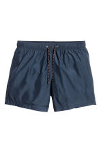 Short swim shorts - Dark blue - Men | H&M 2