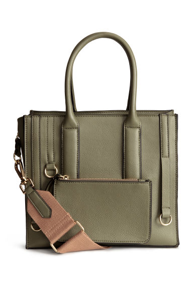 Handbag - Khaki green - Ladies | H&M 1