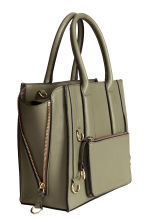 Handbag - Khaki green - Ladies | H&M 2