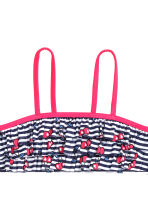 Frilled bikini - Dark blue/Striped - Kids | H&M 3