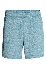 Sports shorts - Turquoise marl -  | H&M CN 2