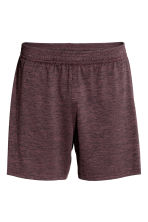 Sports shorts - Plum marl - Men | H&M CN 2