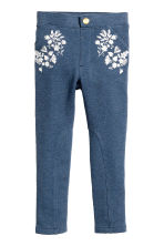 Treggings - Blu mélange - BAMBINO | H&M IT 2