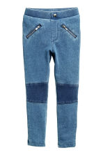 Treggings - Blue washed out - Kids | H&M CN 2