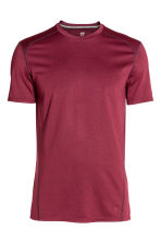 Sports top - Burgundy - Men | H&M CN 2