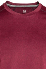 Sports top - Burgundy - Men | H&M CN 3