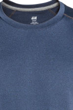 Sports top - Dark blue marl - Men | H&M 3