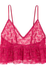Pyjamas with shorts and cami - Raspberry pink - Ladies | H&M GB 4