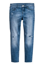 Skinny Fit Worn Jeans - Blu denim - BAMBINO | H&M IT 2