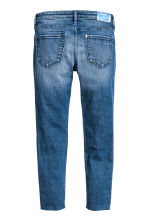 Skinny Fit Worn Jeans - Blu denim - BAMBINO | H&M IT 3