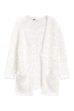 Knitted cardigan - White -  | H&M 2