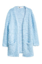 Knitted cardigan - Light blue -  | H&M 2