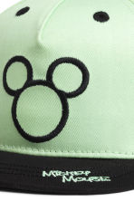 Cotton cap with a motif - Mint green/Mickey Mouse - Kids | H&M CN 3