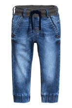 Pantalon jogger en denim - Bleu denim -  | H&M FR 2