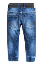 Pantalon jogger en denim - Bleu denim -  | H&M FR 3