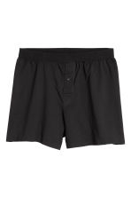 3-pack boxer shorts - Black/White/Blue - Men | H&M 3
