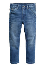Relaxed Tapered Jeans - Denim blue - Kids | H&M CN 2