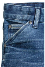 Relaxed Tapered Jeans - Denim blue - Kids | H&M CN 5