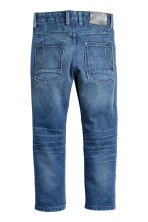 Relaxed Tapered Jeans - Denim blue - Kids | H&M CN 3